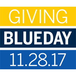 Giving Blueday - Novembr 28, 2017
