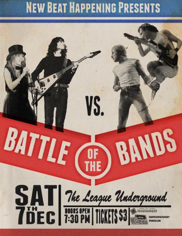 New Beat Happening Battle of the Bands