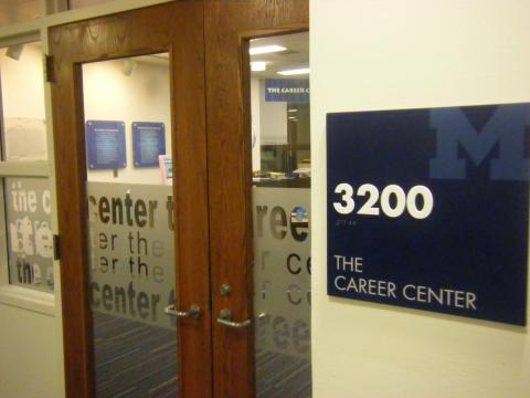 Image of the Career Center's Entrance