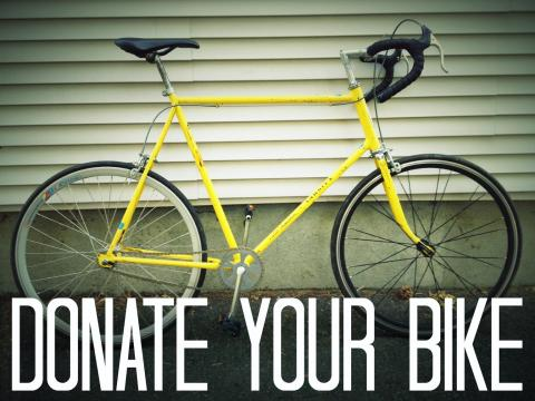 Donate your bike