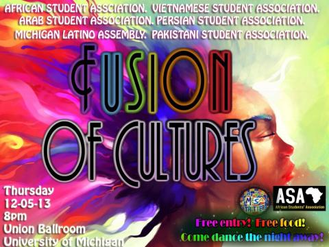 Fusion of Cultures poster