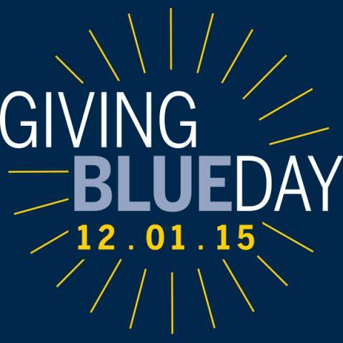 Giving Blueday December 1 2015