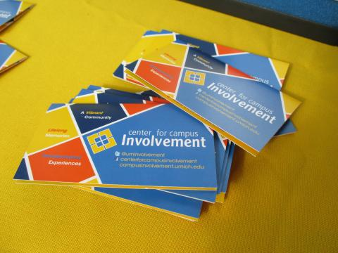 Center for Campus Involvement brochures