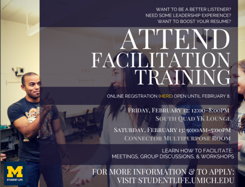 Facilitation training 2016