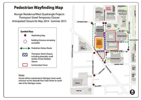 Campus Construction Map