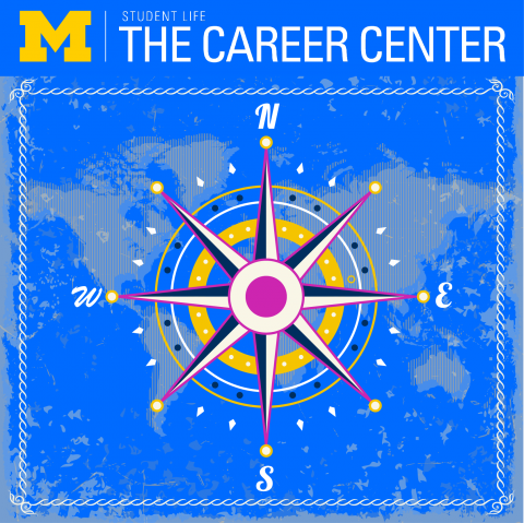Career Center compass poster