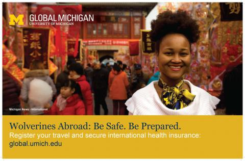 Michigan Student in China
