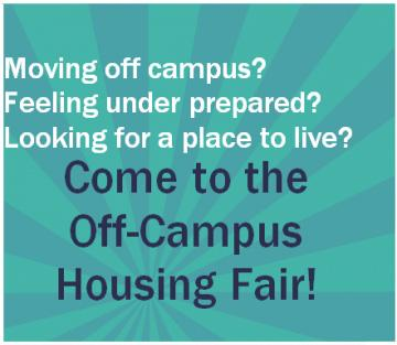 Off Campus Housing Fair
