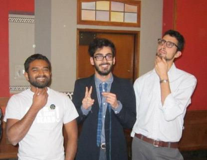 Congratulations to the Men's Activist No Shave participants and winners