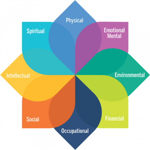 Model of well-being affinity mark