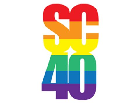 Spectrum Center 40th Anniversary Logo