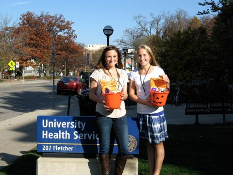 Lauren Johnson and Kelly Bissonette from Body Peace Corps