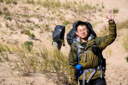 Image of Student Wearing Backpack