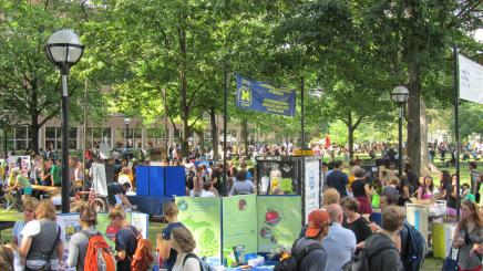 Student orgs at Festifall 2012