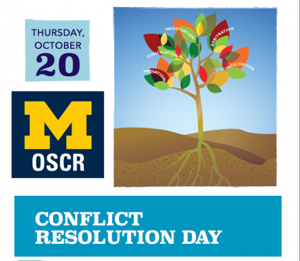 Invitation to Join Conflict Resolution Day Thursday October 20, 2016