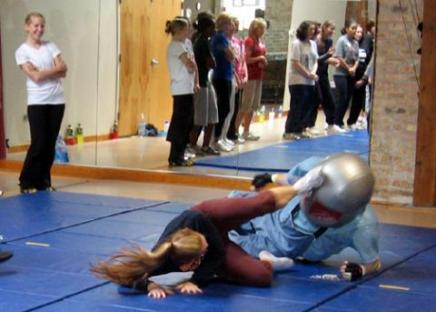 Student learning self defense