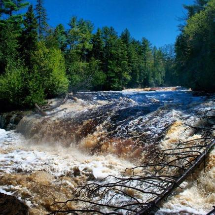 Picture of Taquamenon Falls in Newberry, MI