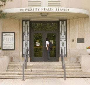 Image of the UHS Entrance on camps