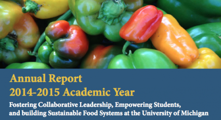 UM Sustainable Food Program Annual Report