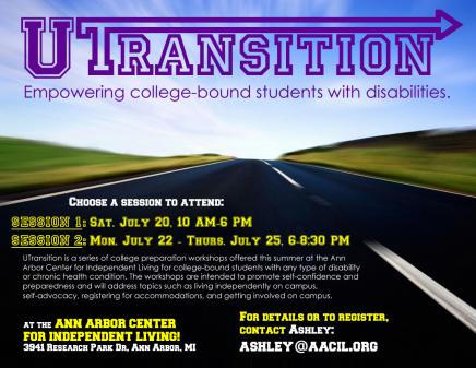 U-Transition Flyer