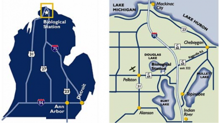 Umich Biological Station graphic