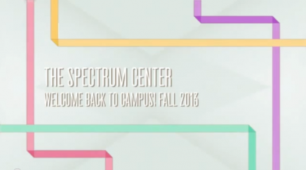 The Spectrum Center welcomes you back to campus!