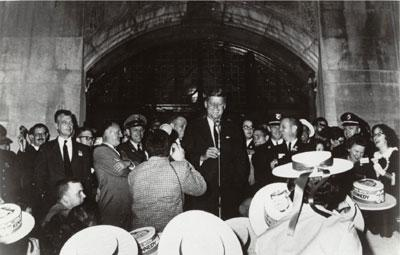 Kennedy at the Michigan Union