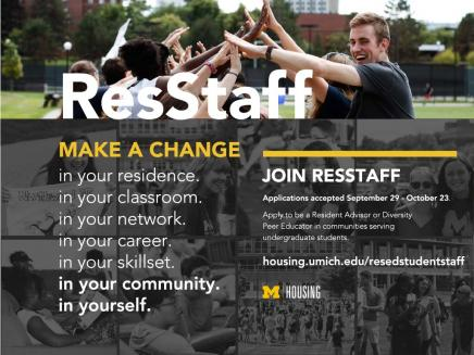 ResStaff - Make a Change, Join ResStaff