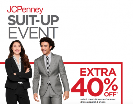 JCPenney Special Sale for U-M Students