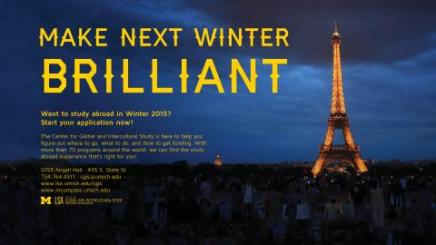 We make winter brilliant flyer