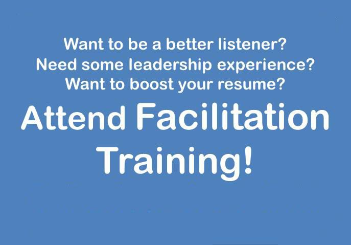facilitation training opportunity