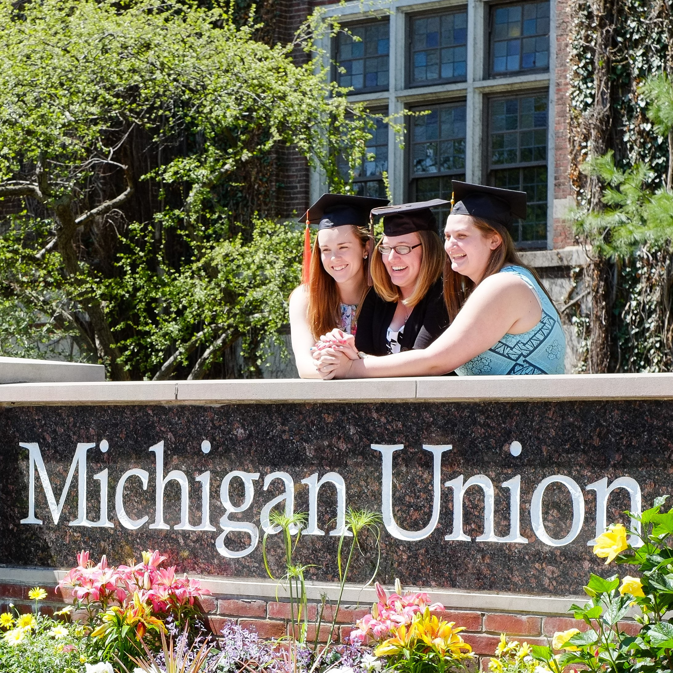 graduating students at Michigan Union