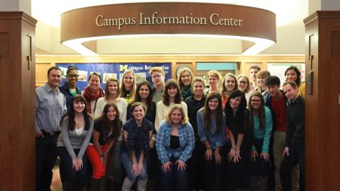 Campus Information staff