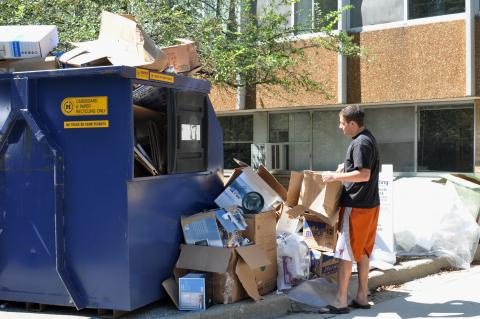 Move-Out recycling