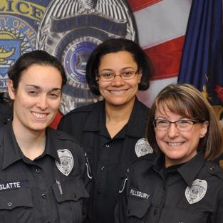 Officers Deslatte, Williams & Pillsbury