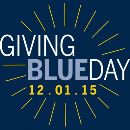 Giving Blueday 12.01.15