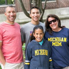 A Michigan Family on Move-in day