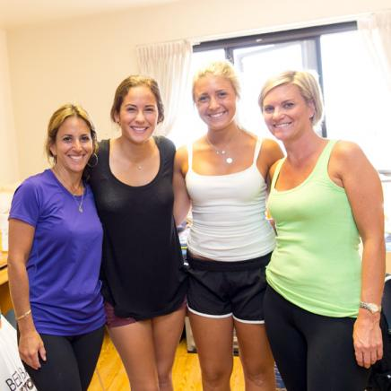 Image of Michigan Moms & Daughters During Move In