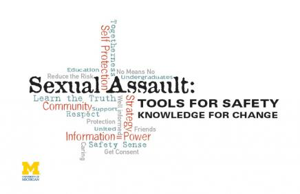 Sexual Assault Prevention and Awareness (SAPAC) poster