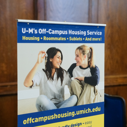 off campus housing website banner