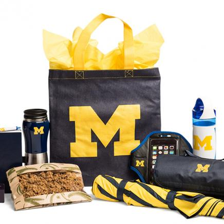 An M Gift package