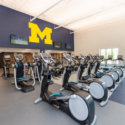 North Campus Recreational Building - equipment