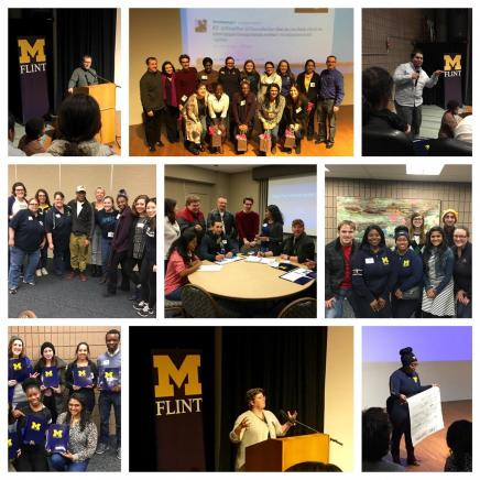 UM Flint & Ann Arbor Students in Collaboration