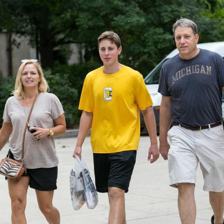 U-M Family at Move-In 2014