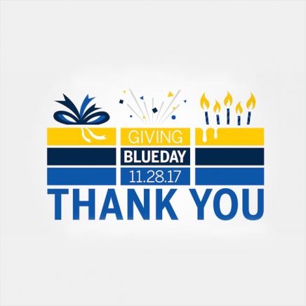 Giving Blueday Thank You!